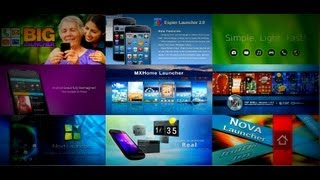 My list of 10 best Android Launchers of 2013