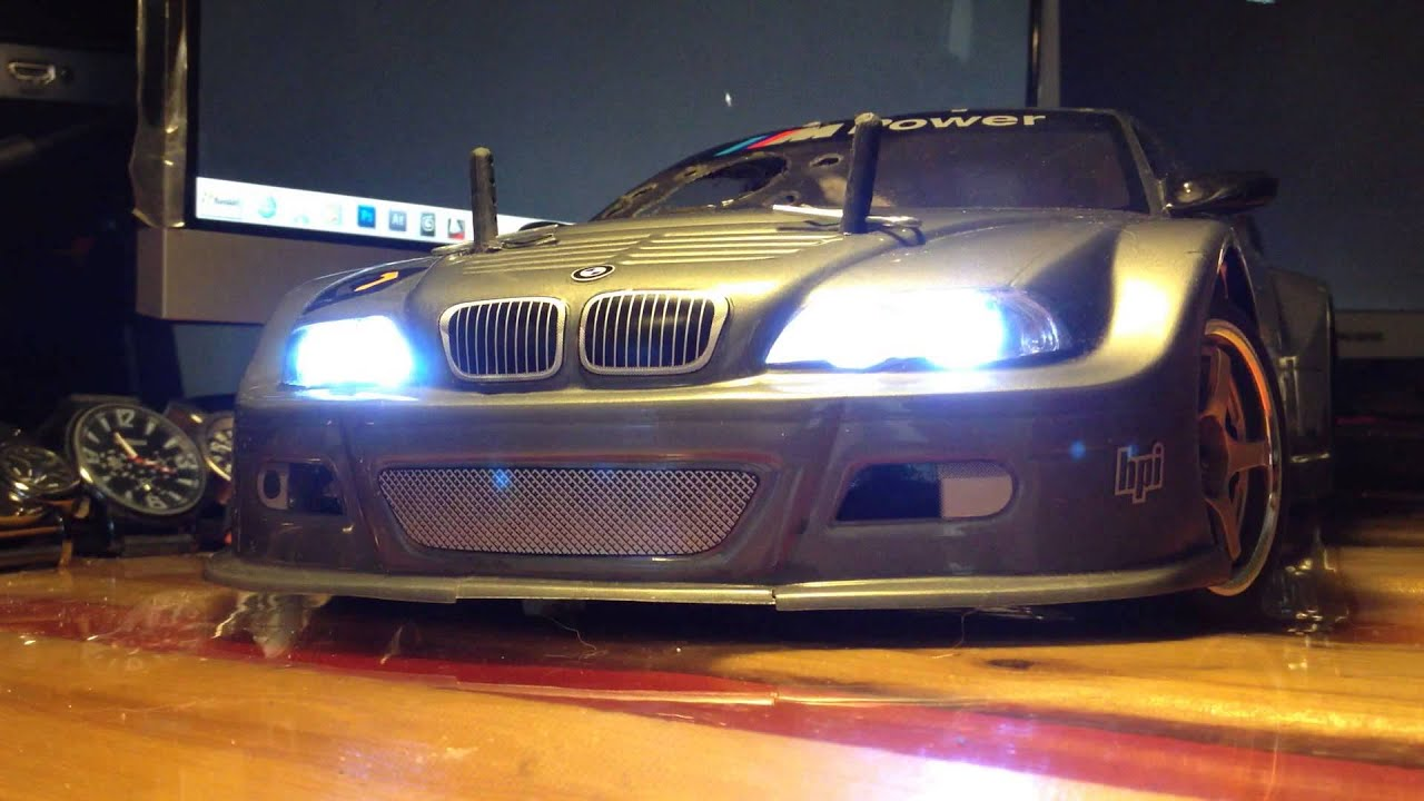 REDCAT Lightning STR 1/10 Scale Nitro On Road Car Led L&s & REDCAT Lightning STR 1/10 Scale Nitro On Road Car Led Lamps - YouTube