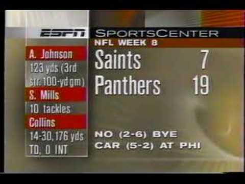 Saints Edge Panthers in Game of Inches