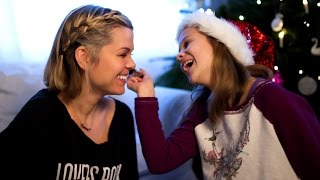 My niece does my makeup - lil' Xmas video with love from Finland! Thumbnail