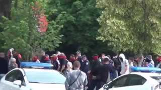 Kharkov. March Right Sector Contra Antimaidan. 01.06.2014