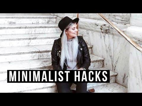 MINIMALIST LIFE HACKS | 10 Tips & Tricks