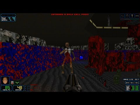 """Dark Encounters [Doom II] Map 30 """"Victory Conditions"""" - UV-Max in 11:22"""
