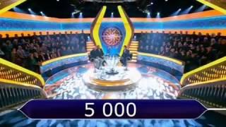 Кто хочет стать миллионером? Эфир 25.02.17 HD (1 канал представляет)!