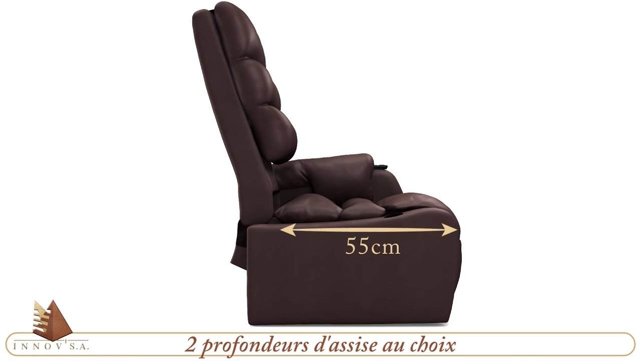 Fauteuil Releveur Cocoon InnovSA YouTube - Fauteuil releveur cocoon