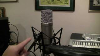 rode nt1 a condenser mic overview nt1a