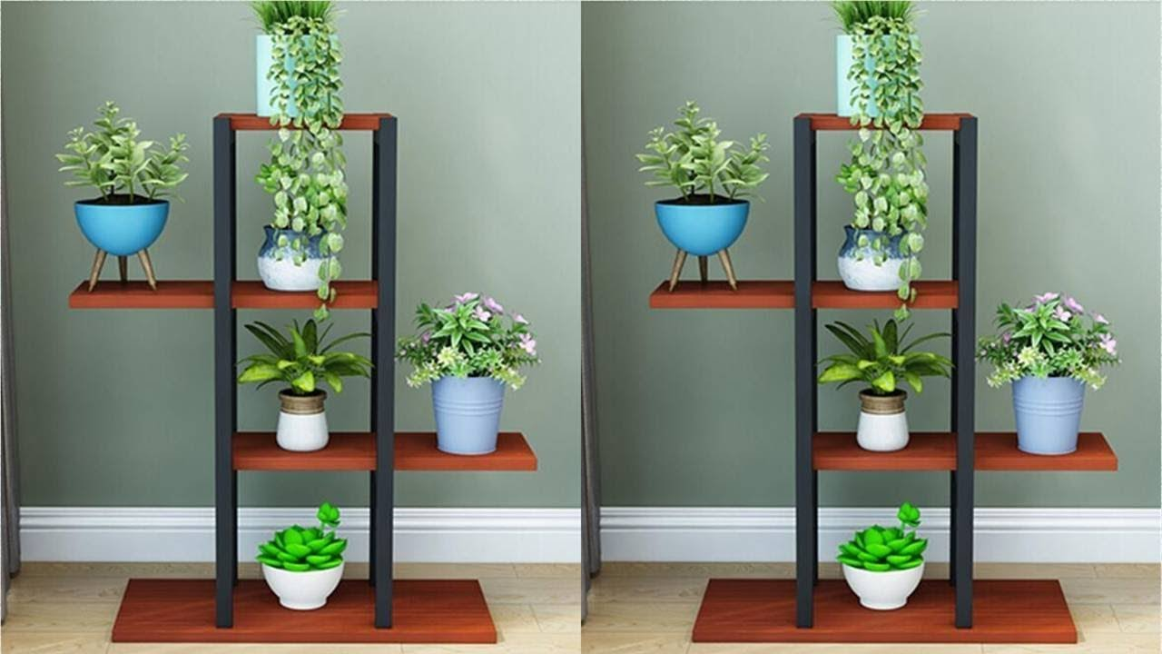 Awesome Flower Shelf Designs Ideas Flower Stand Ideas Indoor Plant Stand Youtube