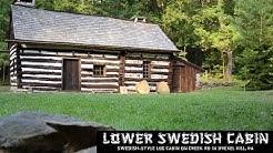 Lower Swedish Cabin - Historical Site [Drexel Hill, Pa] (1080p HD)