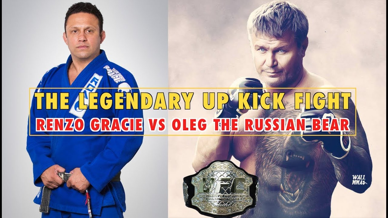 Legendary Fight That Changed MMA and BJJ   Gracie vs  Russian Bear