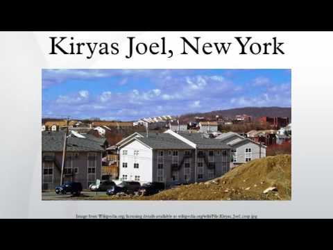 Kiryas Joel, New York