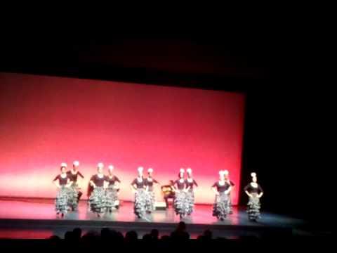 Grupo de baile Inés Romero  Alegrías, Directo 25 06 2011 1