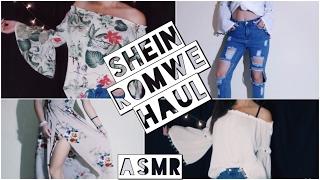 ASMR // SUMMER Haul 2017 SheIn Romwe Rosegal VESTITI INDOSSATI ! INTENSE WHISPERING -ASMR ITA