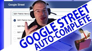 Google Street Auto-Complete-Overview-FileMaker Videos