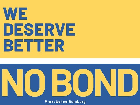 Vote No on the 2019 Provo School Bond