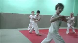 дошкольники тренировка по капоэйра 05 03 2016