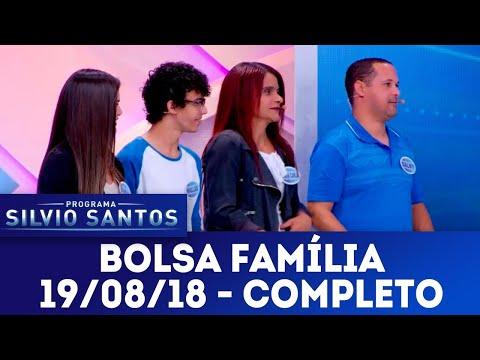 Bolsa Família - Completo | Programa Silvio Santos (19/08/18)