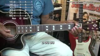 Easy Reggae Guitar Chord Progression Lesson Tutorial EEMusicLIVE