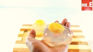 DIY RainDrop Egg How to make raindrop egg gummy jelly or edible cake