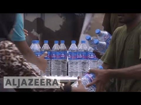Maldivians suffer from water shortage