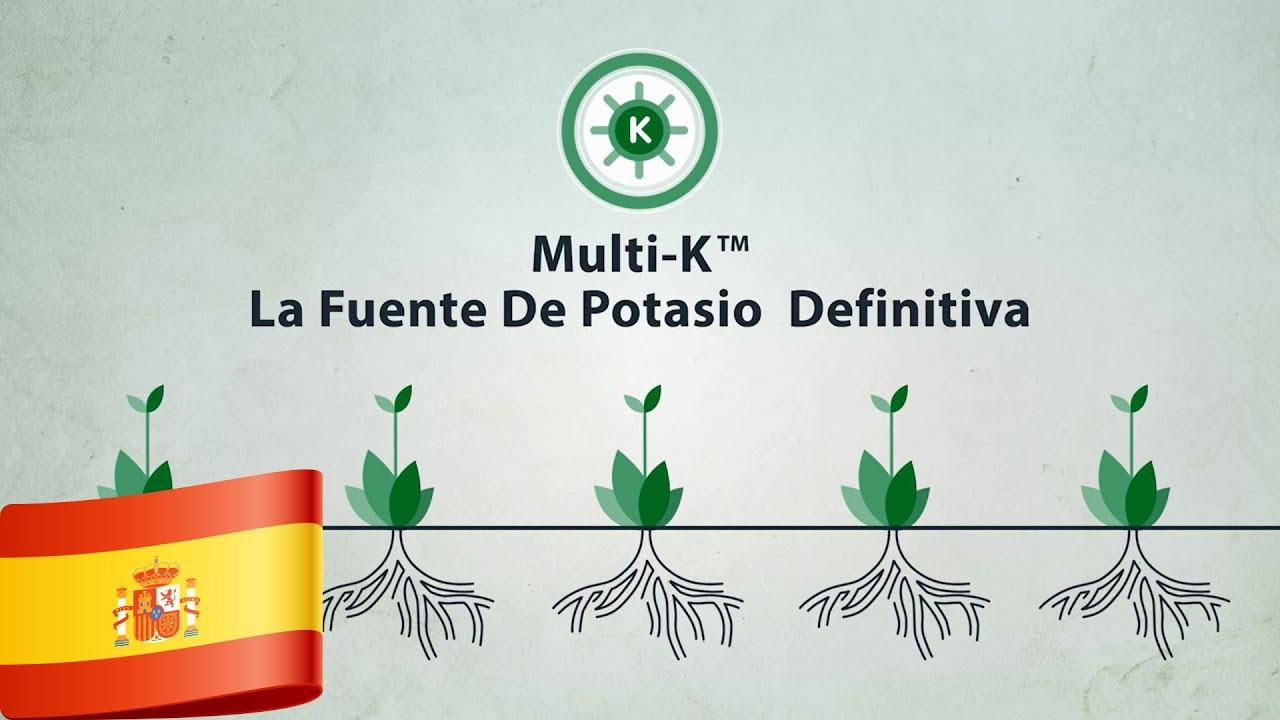 Multi k la fuente de potasio m s eficaz para las plantas for Potasio para plantas