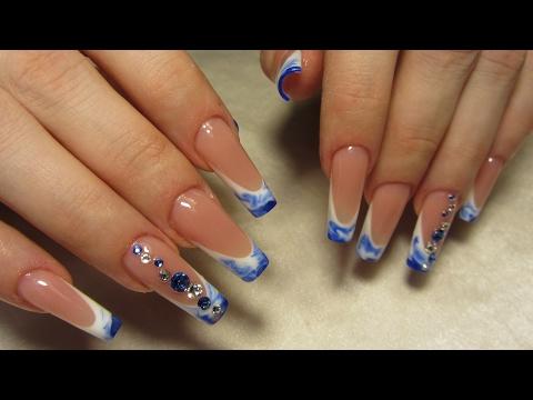 Рисунки на ногти на квадратные