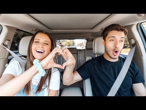 Husband & Wife JUSTIN BIEBER Carpool Karaoke!!