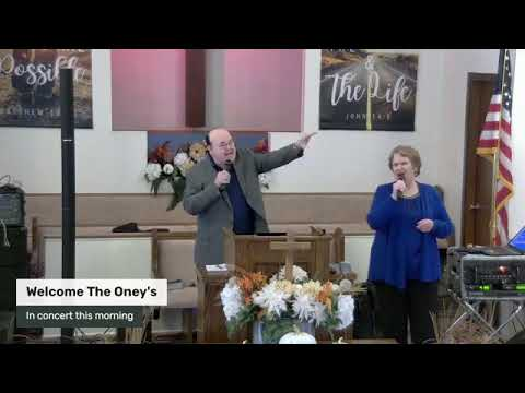 Our final reading of the Kingdom Of GOD And The Oney's in concert