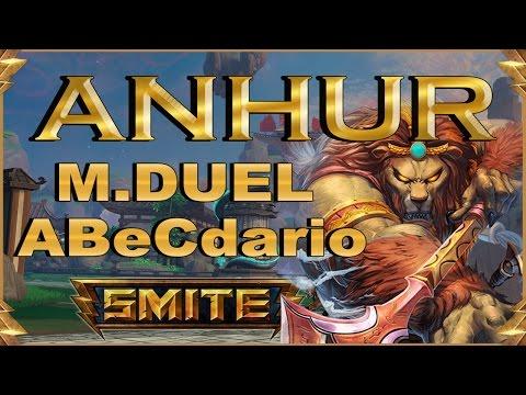 SMITE! Anhur, No es el rey de la selva por casualidad! Master Duel Abecedario #5