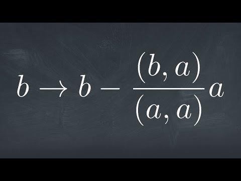 Gram-Schmidt Orthogonalization and Legendre Polynomials