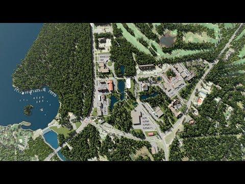 Town Square — The Hub of Crosslake's Future Development