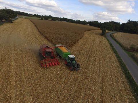 Axial Flow 2188 & Boudineuse / Corn Harvest / Dji Phantom