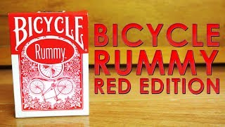 Deck Review - Bicycle Rummy Red Edition Playing Cards