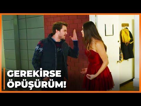 Ali, Selin'i Reklam Filminde Öpüşeceğini Duyunca Çıldırdı! - Güneşin Kızları