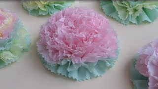 Как сделать ЦВЕТЫ ИЗ САЛФЕТОК / Beautiful Paper Flower / ✿ NataliDoma(Мастер-класс. Как сделать цветы из бумажных салфеток. How to make flowers out of paper napkins. Tutorial Цветы из бумажных салфето..., 2013-07-19T18:01:34.000Z)