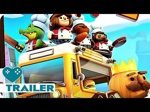 Overcooked 2 Trailer E3 2018 (2018) Nintendo Switch Game