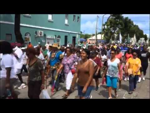 Bermuda Labour Day March, Sept 7 2015
