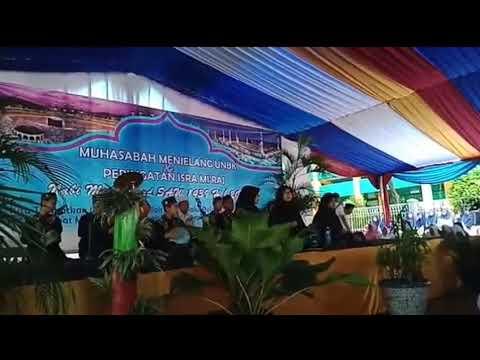 Marawis SMPN 248 Jakarta, Pada Peringatan Isra Miraj, Sholatullah,Ya Habibal Qolbi, Sufna Yuna