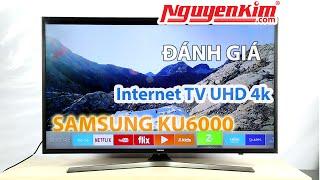 Tivi 4K UHD giá rẻ_Samsung UA43KU6000 - Nguyễn Kim