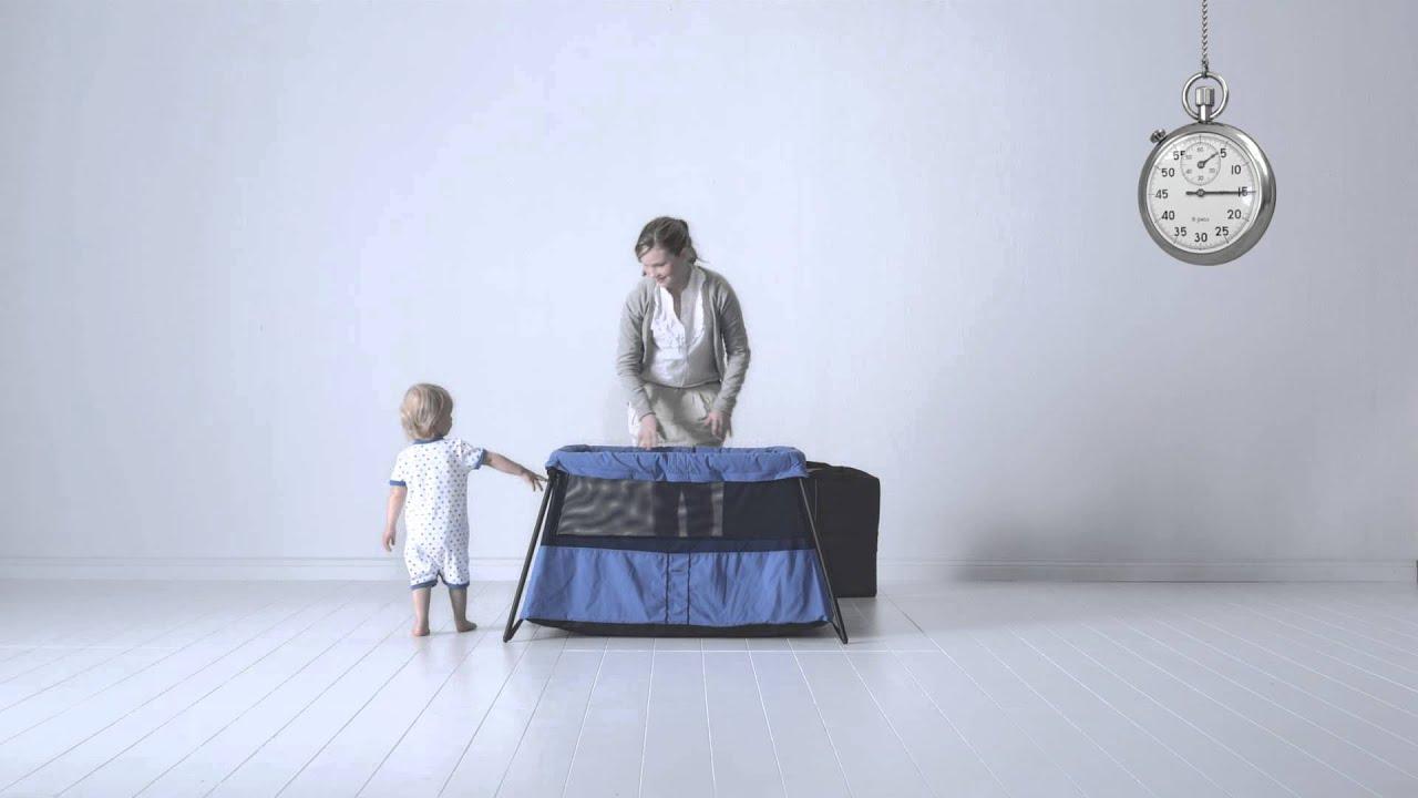 lit pliant light de babybj rn youtube. Black Bedroom Furniture Sets. Home Design Ideas