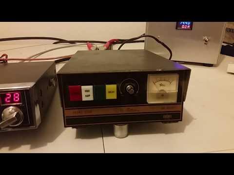 Texas Star 667 Amplifier Test - YouTube