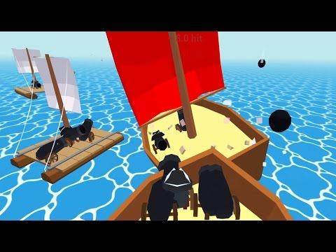 RAFT Multiplayer!?  Booty Plundering On The High Seas - Krew.Io Gameplay