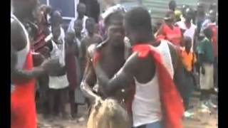 Shocking Video ! Pastor In A Live Spiritual Battle With Juju Priest In-front of His Church