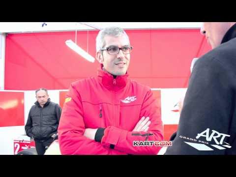 Présentation ART Grand Prix en Karting