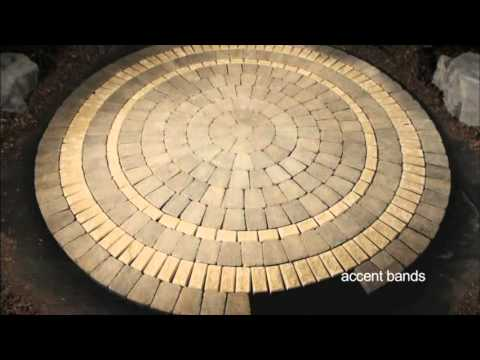 Awesome Stone Oasis Circle Patio   YouTube