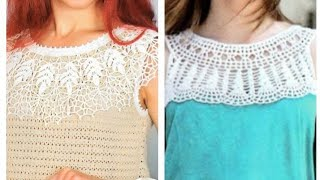 Crochet modern  patterns -  Современные вязаные модели крючком