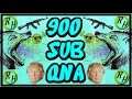 900 SUBSCRIBERS QNA!!! Sorry about it messing up :/