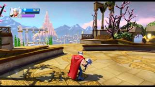 Disney Infinity 2.0 Toybox Share Asgard Under Construction