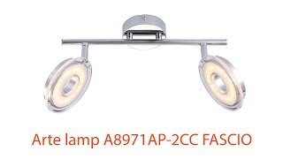 Видеообзор Arte lamp A8971AP 2CC FASCIO