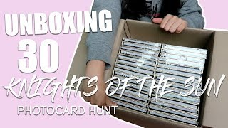 Unboxing 30!! Knights of the Sun Album | Photocard Hunt