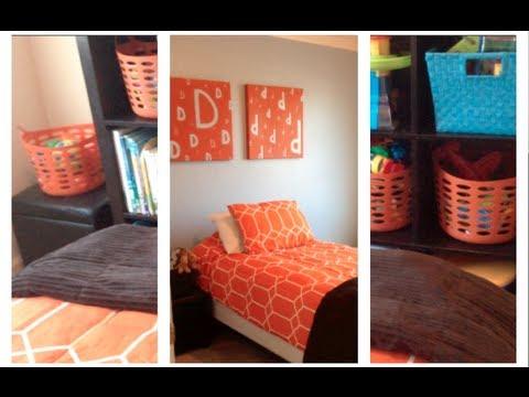 $40 Kid's Bedroom Redo!